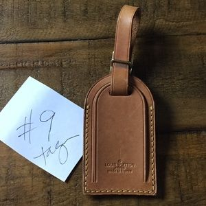 Louis Vuitton authentic Luggage Tag
